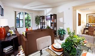 Living Room, Renaissance Square Apartments