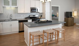 Faux Wood Flooring throughout the kitchen & living room areas, Arcata