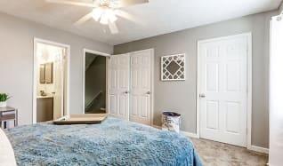 Bedroom, The Block Townhomes