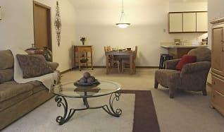 Living Room, Hampton Apartments