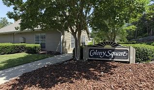 Community Signage, Colony Square Apartments