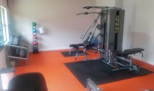 Fitness Weight Room, Cypress Place Apartments