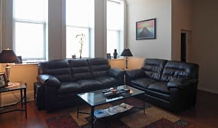 Living Room, The William Brown Lofts