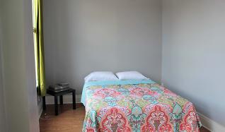 Bedroom, AMO SouthSide Apartments