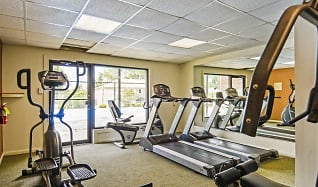 Fitness Weight Room, Oak Forest Apartments