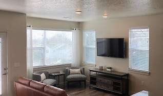 Living Room, Midvale Station Townhomes