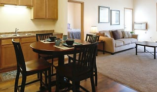 Dining Room, Amber Pointe Apartments