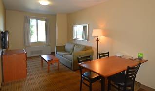 Living Room, Furnished Studio - Anchorage - Midtown