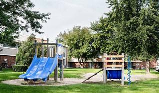 Playground, Woodridge Apartments and Townhomes