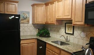 Kitchen, 450 Green Apartments