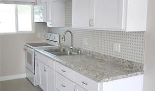 Kitchen, Hazelwood Apartments
