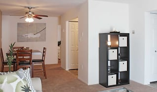 Living Room, Peachtree Apartments