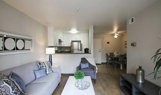 Living Room, Heritage Pointe Senior Apartments