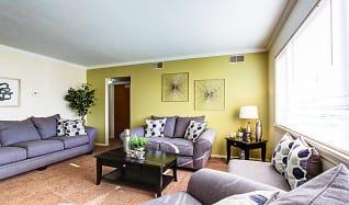 Living Room, Cambridge Square Apartments