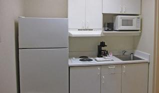 Kitchen, Furnished Studio - St. Louis - Westport - East Lackland Rd.
