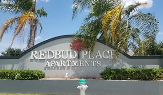 Community Signage, Redbud Place Apartments