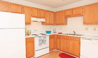 Kitchen, The Village at England Run Townhomes