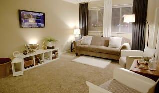 Living Room, West Broad Plaza