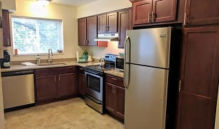 Kitchen, Arbor Hills Apartments