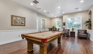 Billiards room, Preserve at Blue Ravine
