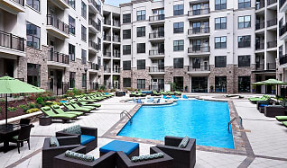 Pool, 2700 Charlotte Ave Apartments
