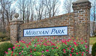 Community Signage, Meridian Park Apartments