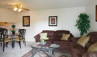 Living Room, Gretna Park Apartment Homes