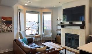 Living Room, 805 West Bradley Place 3