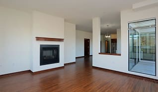 Living Room, Mequon Town Center Apartments