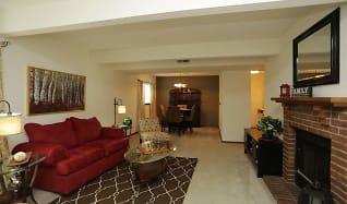 Living Room, Brookfield Village Apartments