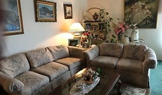 Living Room, 555 Palm Avenue, Apt #303