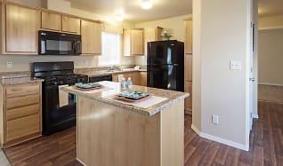 Kitchen, Four Seasons Apartments