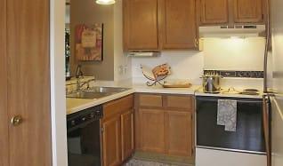 Kitchen, Plum Tree Apartments