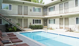 Pool, The Pavillion Apartments