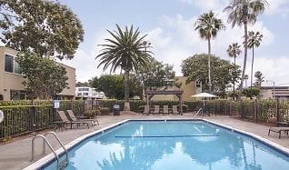 Pool, Loma Palisades Apartments