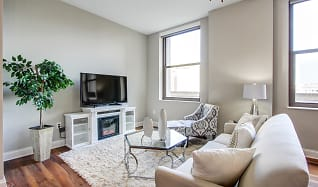 Living Room, The Terminal Tower Residences