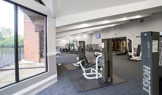 Fitness Weight Room, York Brook Apartments