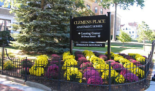 Community Signage, Clemens Place Apartments