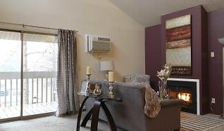 Living Room, Canterbury Apartments