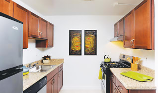 Kitchen, Seminary Towers Apartments
