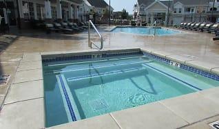 Pool, Riverwalk Luxury Apartments