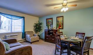 Living Room, Parkside of Livonia - Independent Senior Living