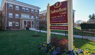 Community Signage, Suburban Court Apartments