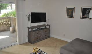 Living Room, 8560 Via Mallorca Unit J
