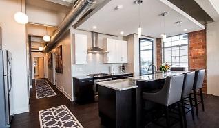 Kitchen, Lofts At Elk Terminal