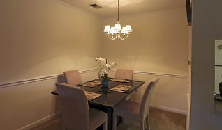 Dining Room, Colony Square Apartments