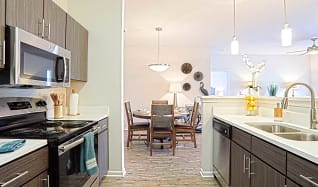 Kitchen, Colonnade at Eastern Shore Apartment Homes