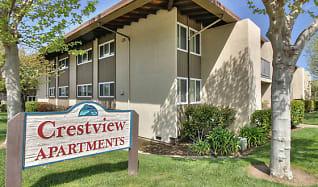Community Signage, Crestview Apartments