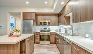 Kitchen, Hub Apartments