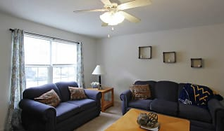 Living Room, Copper Beech Townhomes